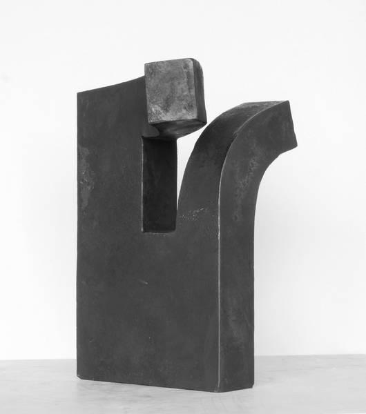 x, Geschmiedetes Eisen, 240x300x40mm, 2011