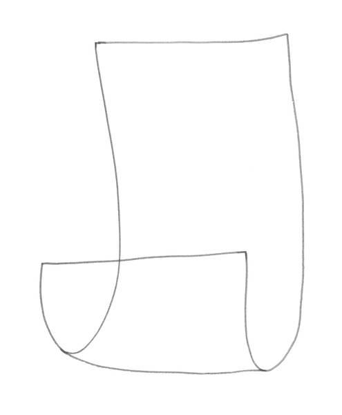 Hinten immer Vorne, Tinte, 30x40 2011