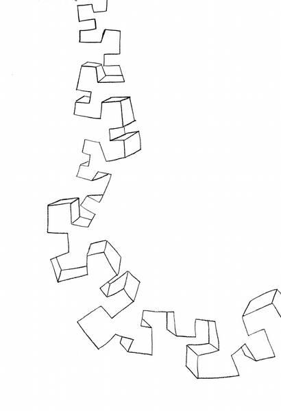 Titel, Kohle auf Papier (Waterford 300gr), 200cm x 150 cm 2012