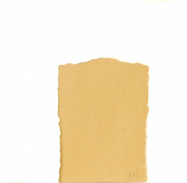 Kami shigoto, zerrissenes Papier, 19x19cm 2010
