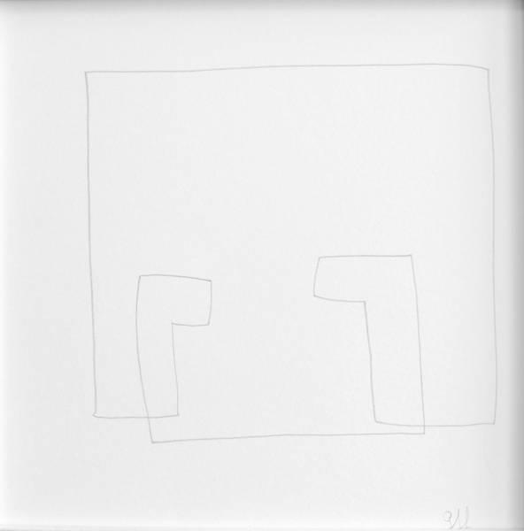U, Bleistift Zeichnung, 20x20cm 2014