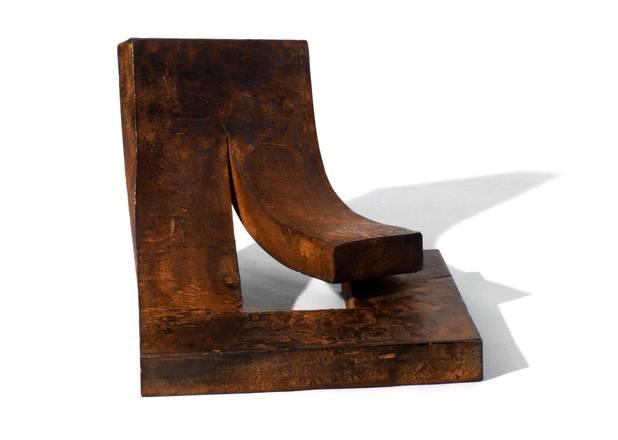 U, Geschmiedetes Eisen, 45x40x35 cm, 2007