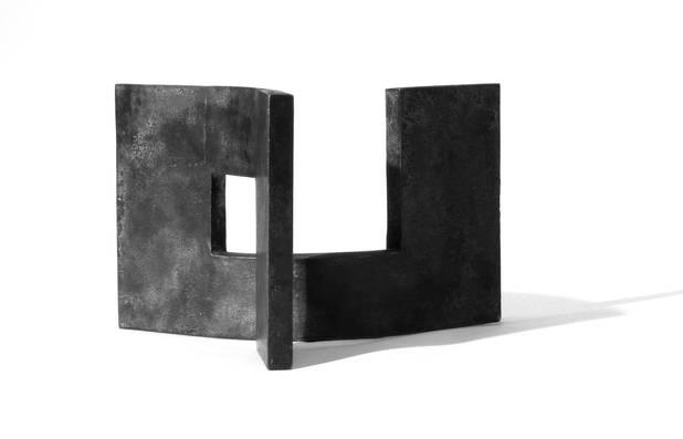 Architektur, Geschmiedetes Eisen, 55x45x35 cm, 2004