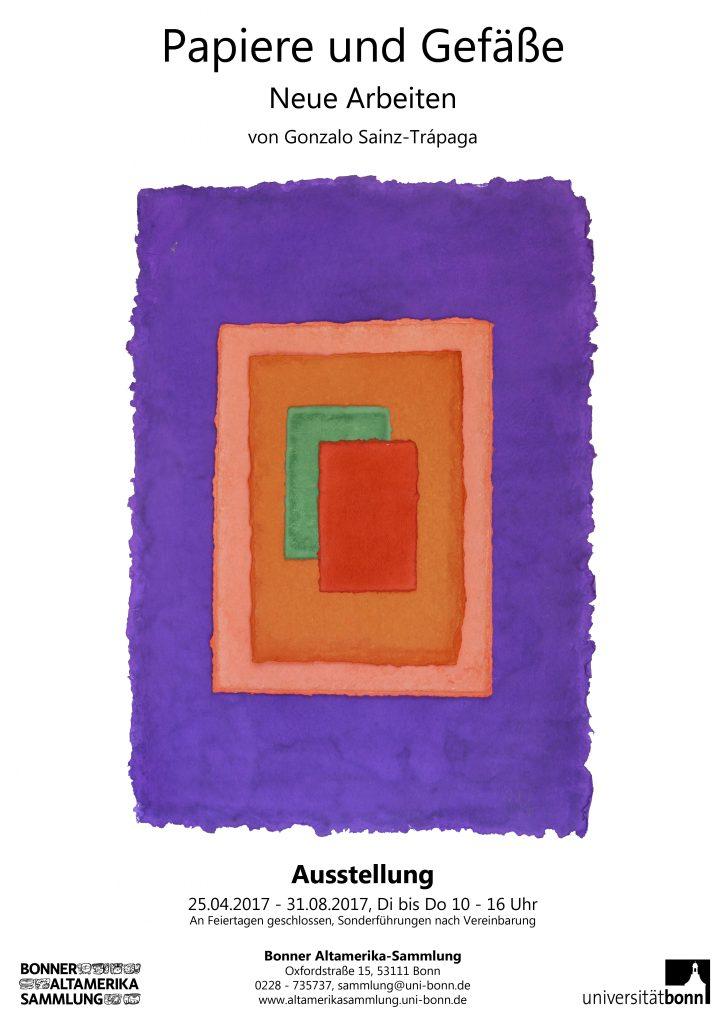 Ausstellung: Papiere und Gefäße