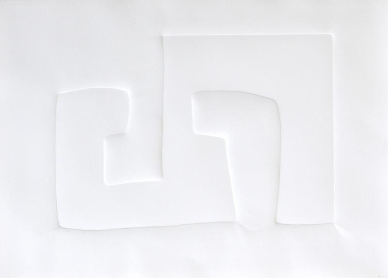 Verbindungen. Prägung Arche Papier 2001